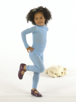 Seamless Base Layers - Long Sleeve Vest - Skinnies Silk Child from